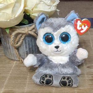 Ty Beanie Peek-A-Boo cell phone holder